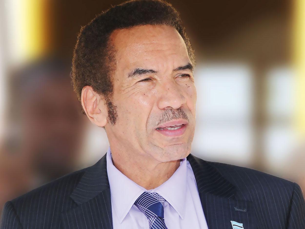 BOTSWANA /  Après sa démission spectaculaire :Ian Khama entre dans l'histoire