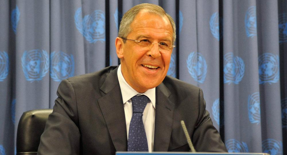Serguei Lavrov,  Ministre des Affaires Etrangères de la Fédération de Russie