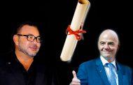 La lettre du Roi Mohammed VI au Président de la FIFA