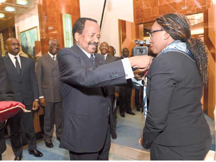 Commission économique des nations unies pour l'Afrique EN VISITE AU CAMEROUN, DR VERA SONGWE A SEDUIT ET INSISTE SUR L'INTEGRATION ECONOMIQUE REGIONALE