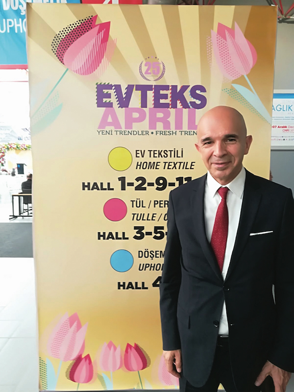 """Mr . Ali BULUT CEO of CNR Holding, Istanbul, Turkey """"We have a big interest in Africa. Myself, i spent four years in sub-saharan african, before i joined CNR Holding? I know Africa's Potential, in terms of manufacturing, or consuming"""""""