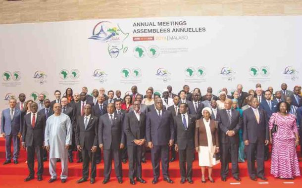 Under of the theme: The African Economic Integration the 54th annual meetings of the African Development Bank in Malabo, Equatorial Guinea
