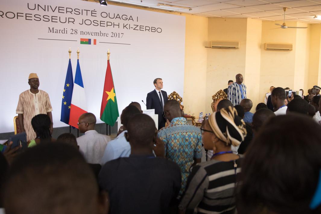Pour la première fois, les diasporas africaines parlent à un dirigeant français