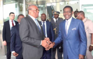 PRESIDENT TEODORO OBIANG NGUEMA MBASOGO AND THE PEOPLE OF EQUATORIAL GUINEA WARMFULLYWELCOMEINTHEIR COUNTRY, PRESIDENT ERNESTO CALVALHO OF SAO TOME AND PRINCIPE