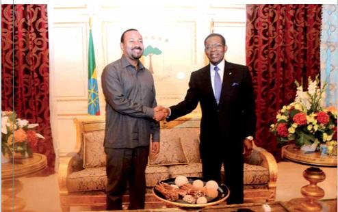 Le Premier Ministre Ethiopien en visite officielle en Guinée Equatoriale