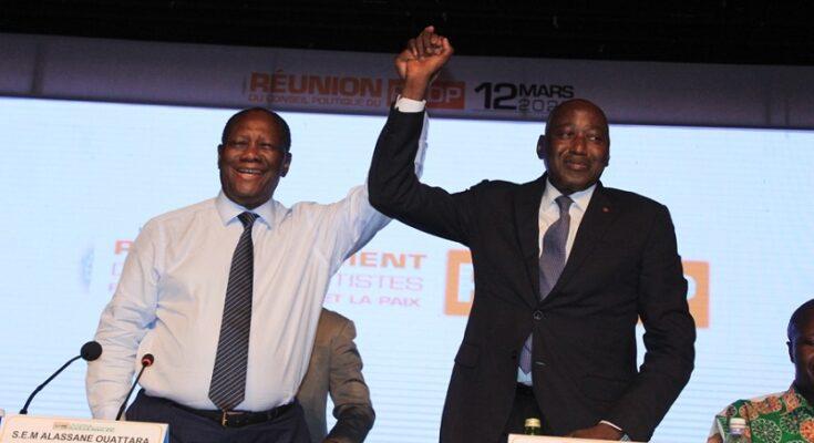 Présidentielle 2020 en Côte d'Ivoire : Un fidèle de Ouattara désigné candidat du RHDP, parti présidentiel
