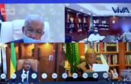 Le président Malgache présente le Covif-organic à ses paires africains