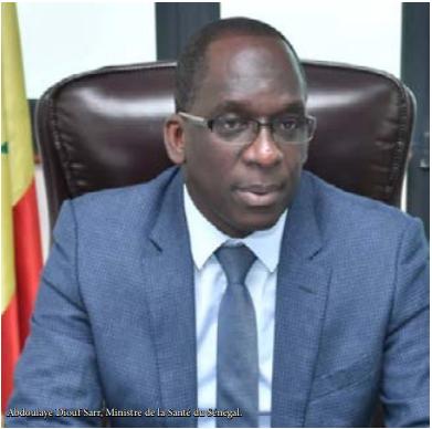 ABDOULAYE DIOUF SARR, MINISTRE DE LA SANTÉ ET DE L'ACTION SOCIALE DU SÉNÉGAL. « Il est évident que le chantier de la remise à flot ou du redémarrage ne sera pas facile pour les pays africains »